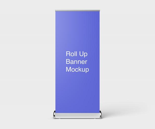 Modell des roll-up-banner-ständers