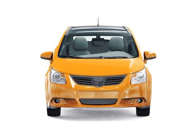 Modell des schrägheckautos 2009