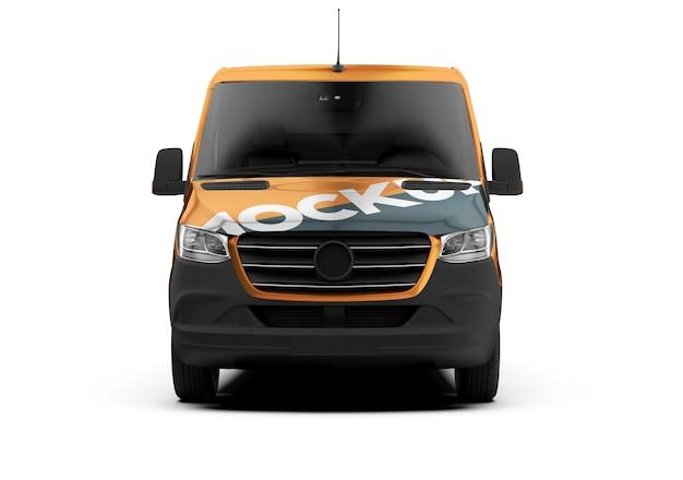 Modell eines frontvans