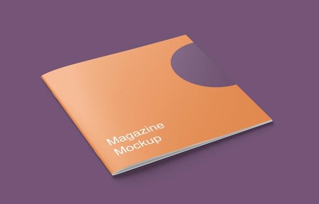 Modell eines magazins oder einer broschüre
