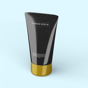 Modell für kosmetik und schönheitsprodukte