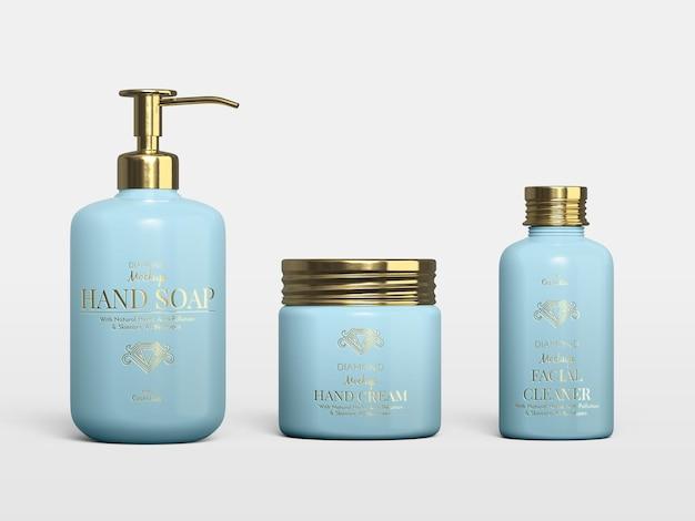 Modell für kosmetische produkte