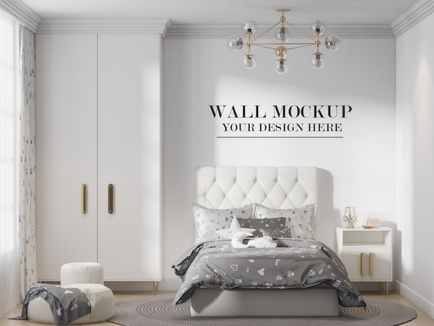 Modell jugendlich schlafzimmer wand