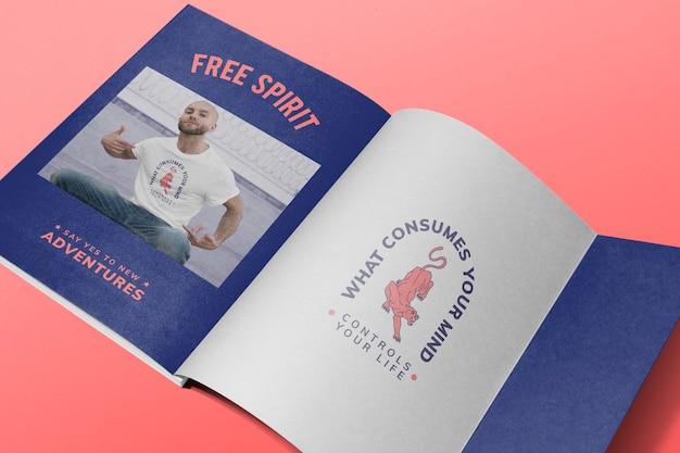 Modemagazin editierbar, remix aus kunstwerken von geo
