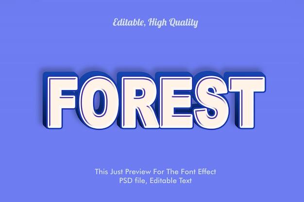 Modern gestylter 3d-trendschrift-effekt