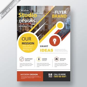 Moderne broschüre vorlage