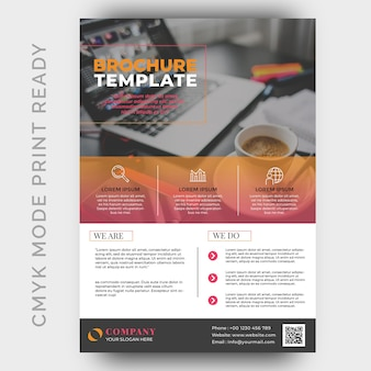 Moderne business-flyer-design-vorlage