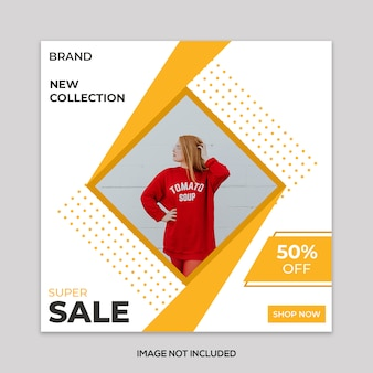 Moderne mode sale banner