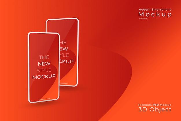 Moderne neue art logo logo premium psd vorlage