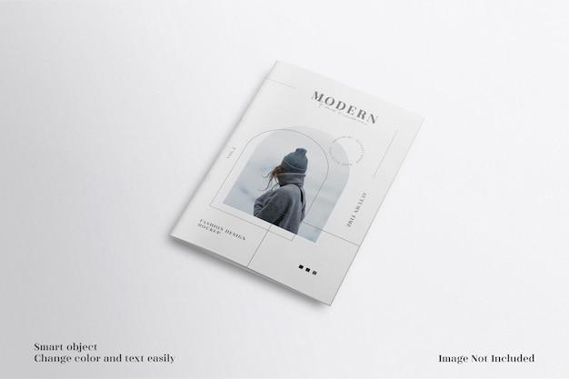 Moderne und minimalistische a4-broschüre oder flyer-mockup