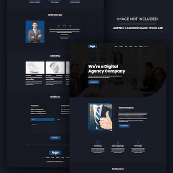 Moderne website-design-psd-vorlage