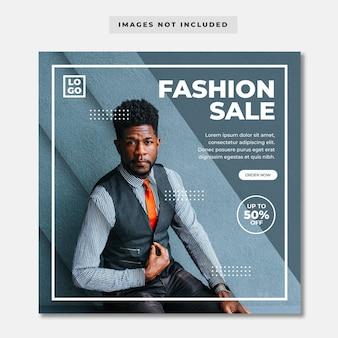 Moderner modeverkauf instagram