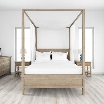 Moderner schlafraumstil
