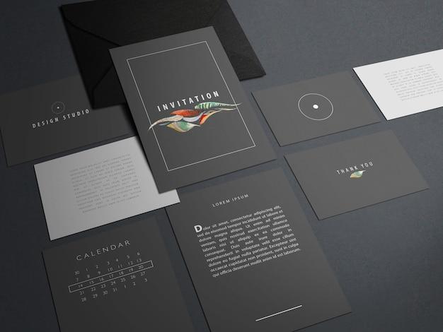 Modernes branding-identitätsmodell