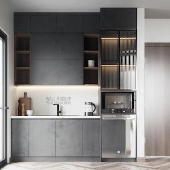 Modernes küchenwandmodell