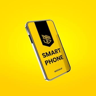 Modernes smartphone-modell