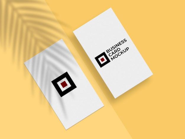 Modernes visitenkartenmodell Premium PSD