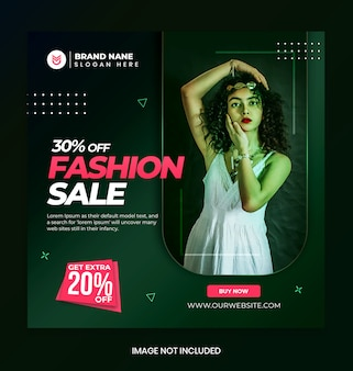 Modeverkaufsförderungsbanner
