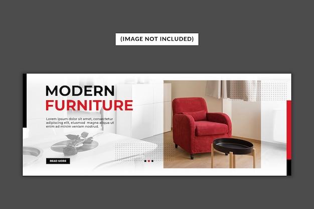 Möbel facebook deckblatt vorlage