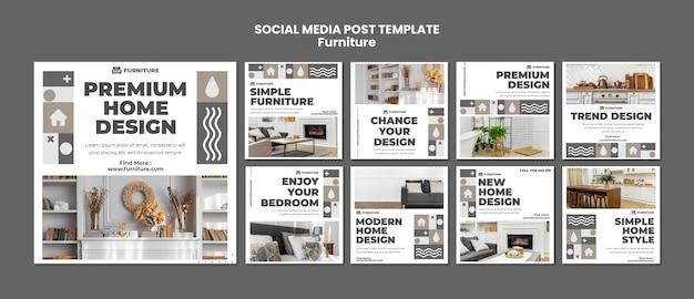 Möbel social media post