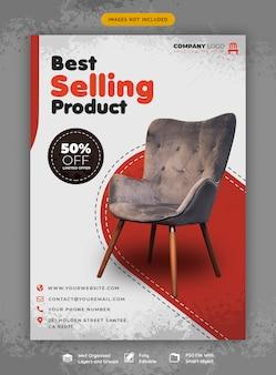 Möbelverkauf flyer vorlage
