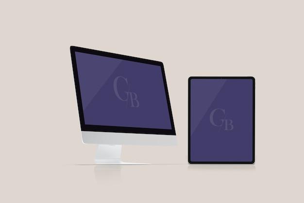 Monitor- und tablet-modell Premium PSD