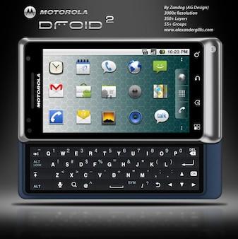 Motorola droid psd