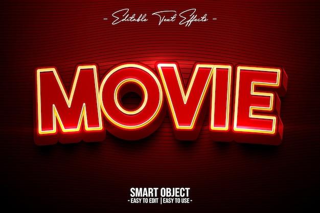 Movie-text-style-effekt