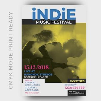 Musik festival poster