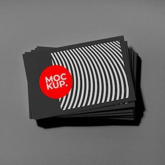 Musterbesuchskarten-mockup