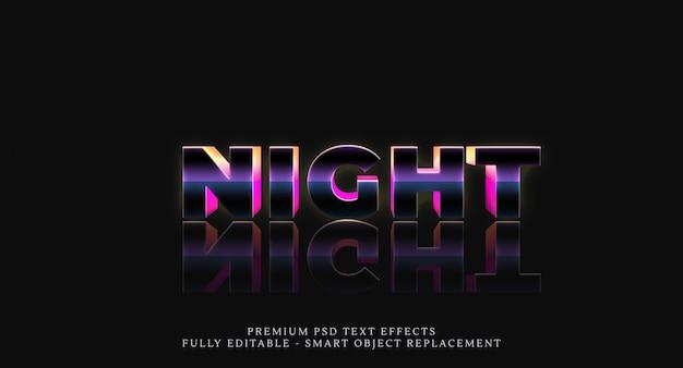 Nacht textstil