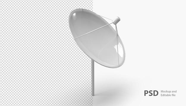 Nahaufnahme auf antenne isoliert