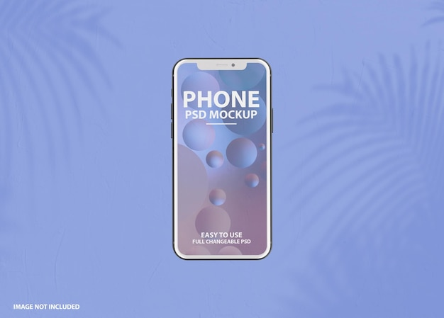 Nahaufnahme auf smartphone-modell isoliert