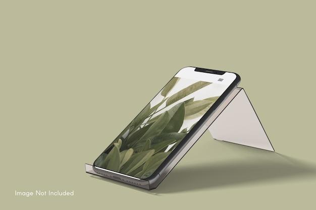Nahaufnahme auf smartphone-modell