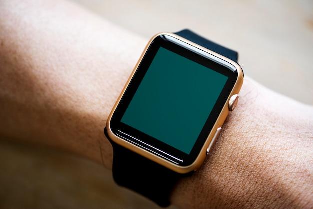 Nahaufnahme des modells smartwatch