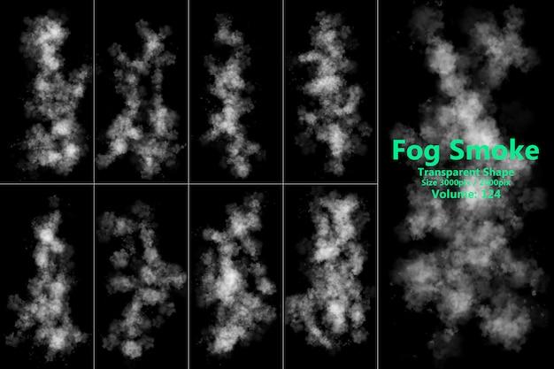 Nebelrauch transparente form