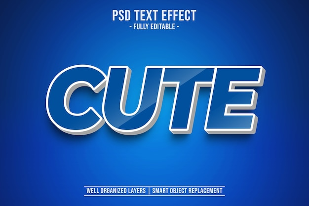 Netter textstileffekt