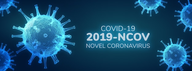 Neuartiges coronavirus (2019-ncov), virus covid 19-ncp