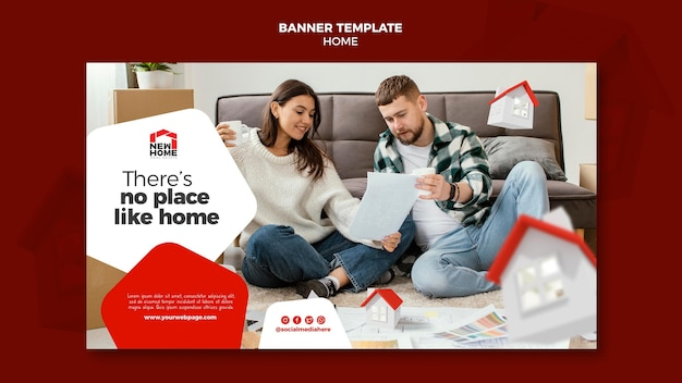 Neue home-banner-vorlage
