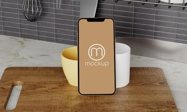 Neueste smartphone pro mockup design