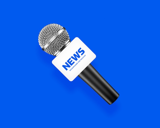News anchor medienkanal mikrofon modell