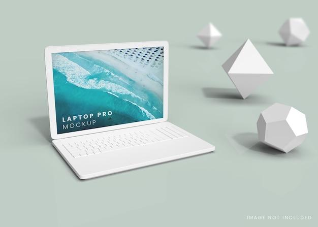 Notebook-computer-bildschirmmodell
