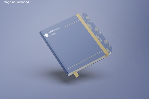 Notebook-quadrat-modell