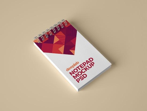 Notizblock-branding-modell