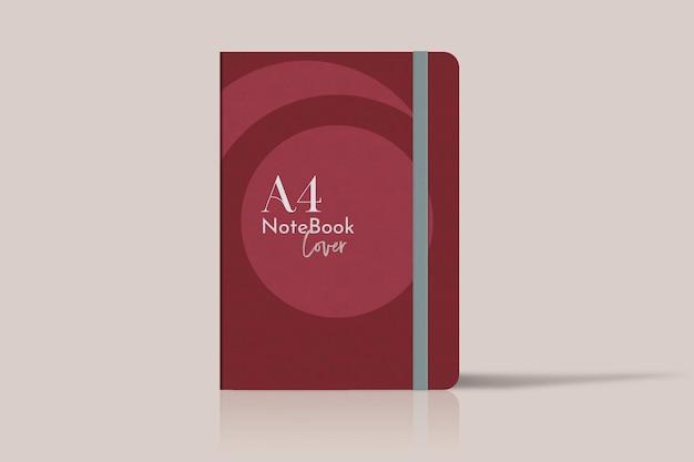 Notizbuch abdecken. anwendbar für die geschäftspräsentation, notizbücher, planer