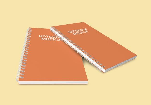 Notizbücher-modell