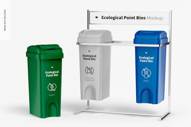 Ökologisches point bins mockup
