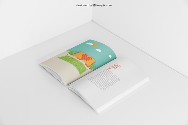 Offenes booklet-modell