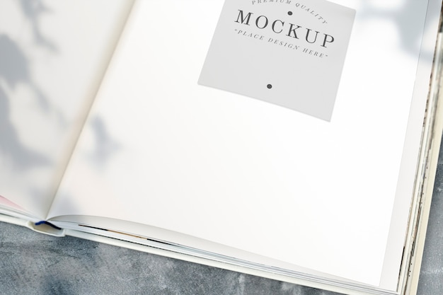 Offenes buch-modell