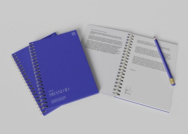Office-notizbuch-modell